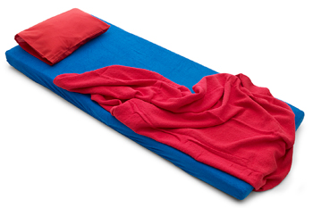 filt och kudde