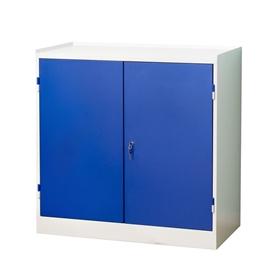 låda med låsbart lock