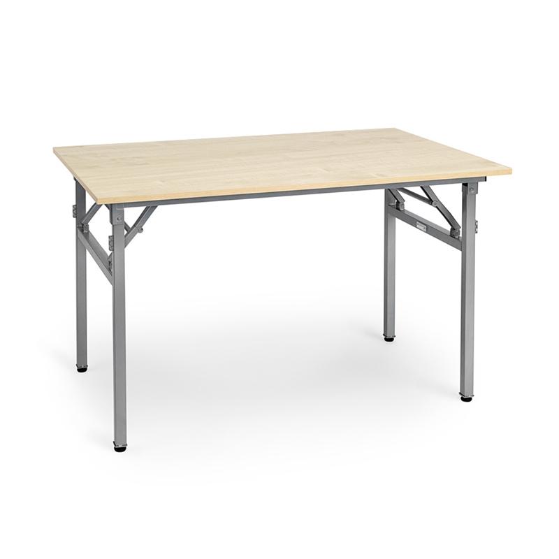 Välkända Hopfällbart bord Starko, björklaminatskiva och lackerat stativ JZ-89