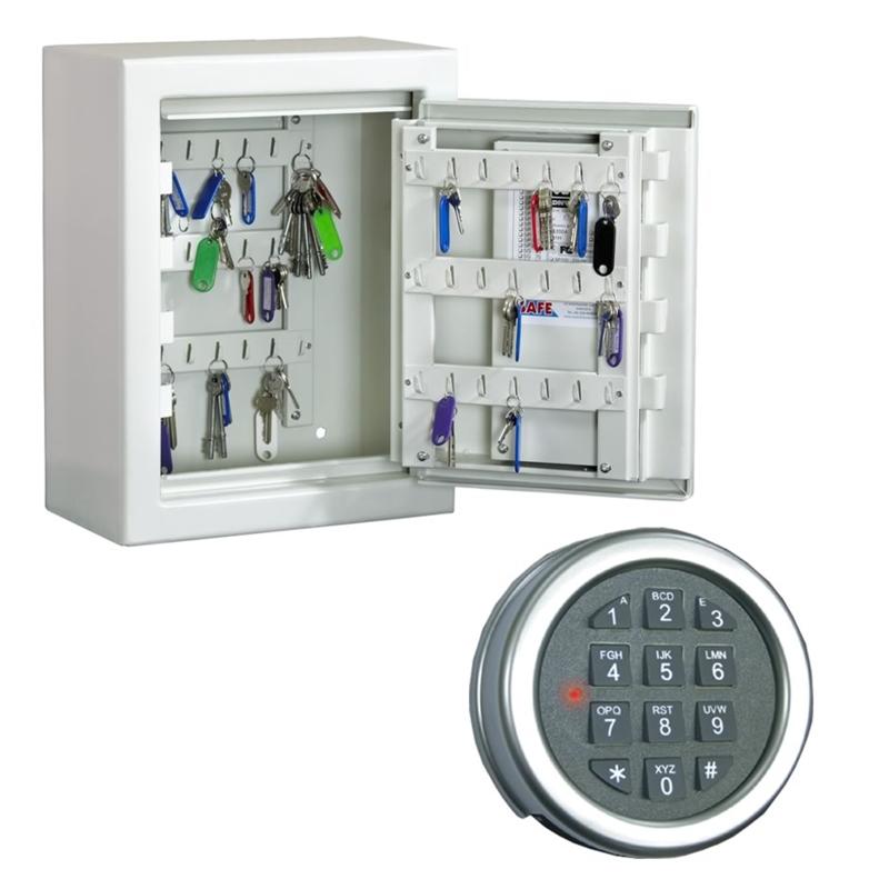 Unika Elektroniskt kodlås, godkänt för nyckelskåp NE-54